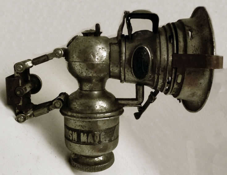Carbide bicycle lamp Historylinks Archive